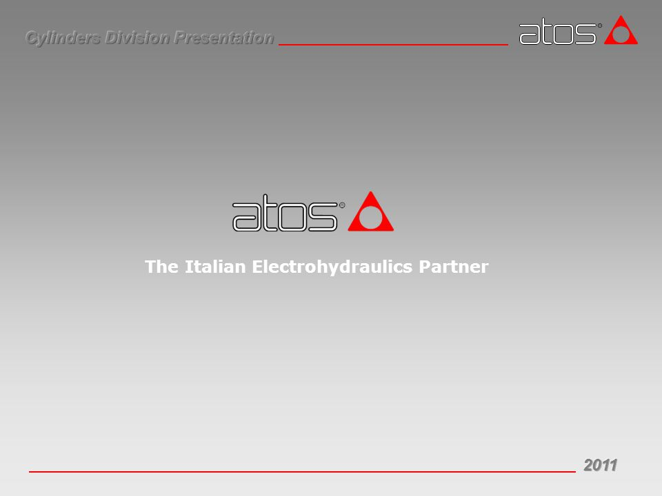 The Italian Electrohydraulics Partner