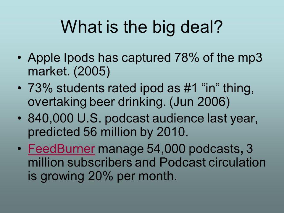 6 million iPods