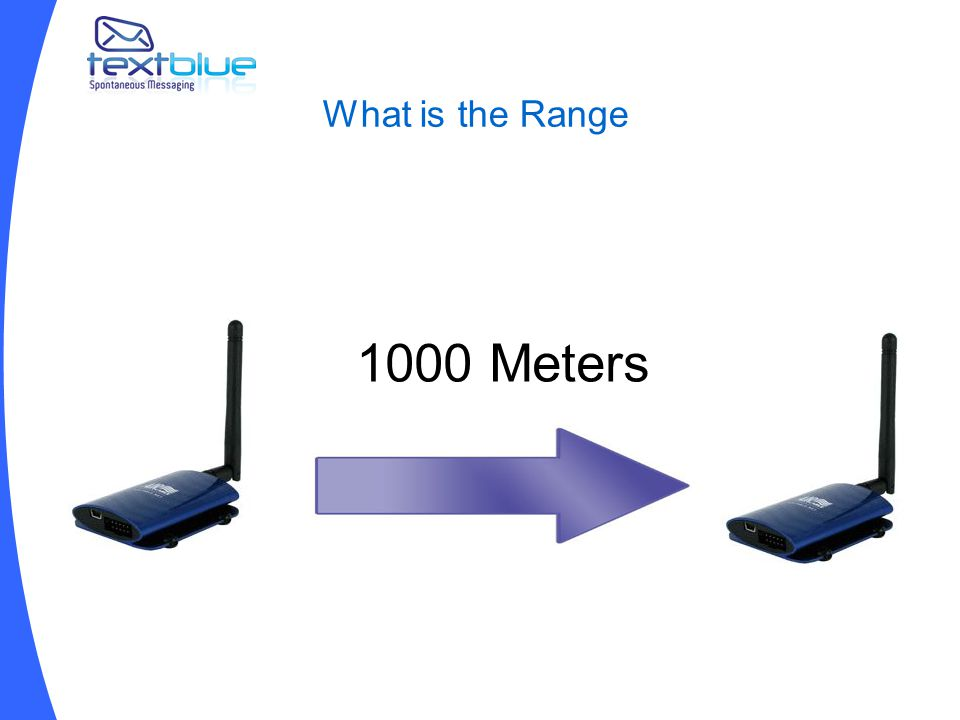 What is the Range 1000 Meters