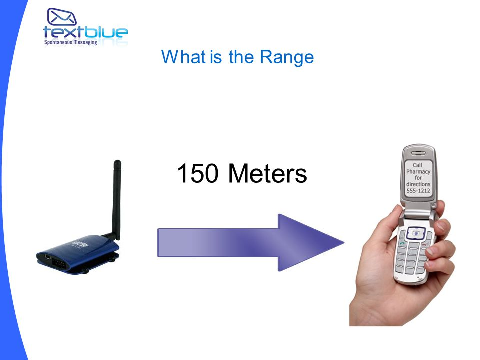 What is the Range 150 Meters