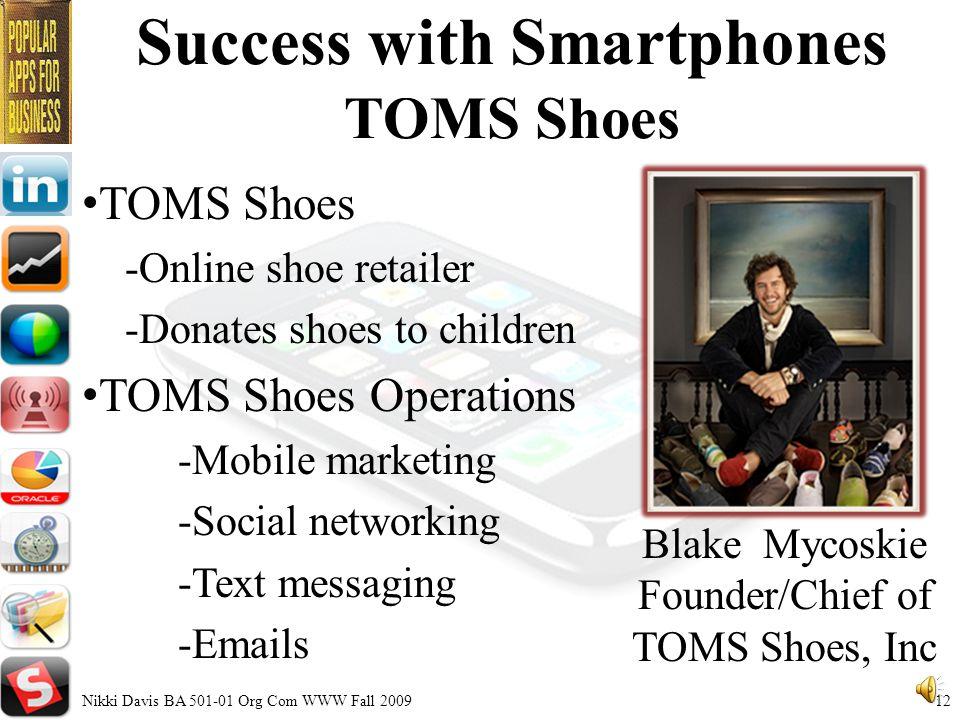 Current Global Sales Smartphone Q2 2009 Nikki Davis BA 501-01 Org Com WWW Fall 200911