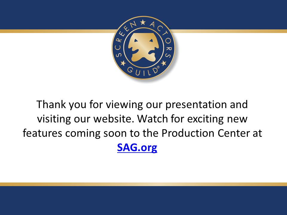 Thank you for viewing our presentation and visiting our website.