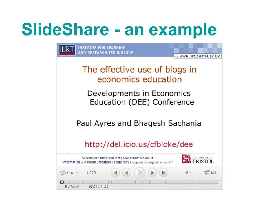 SlideShare - an example