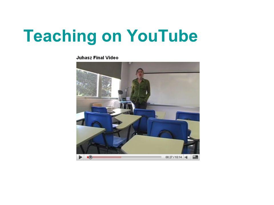 Teaching on YouTube