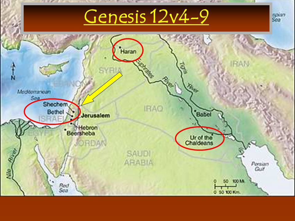 Genesis 12v4-9