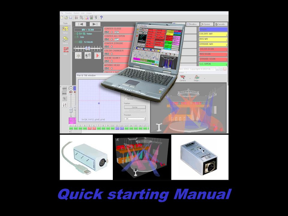 Quick starting Manual