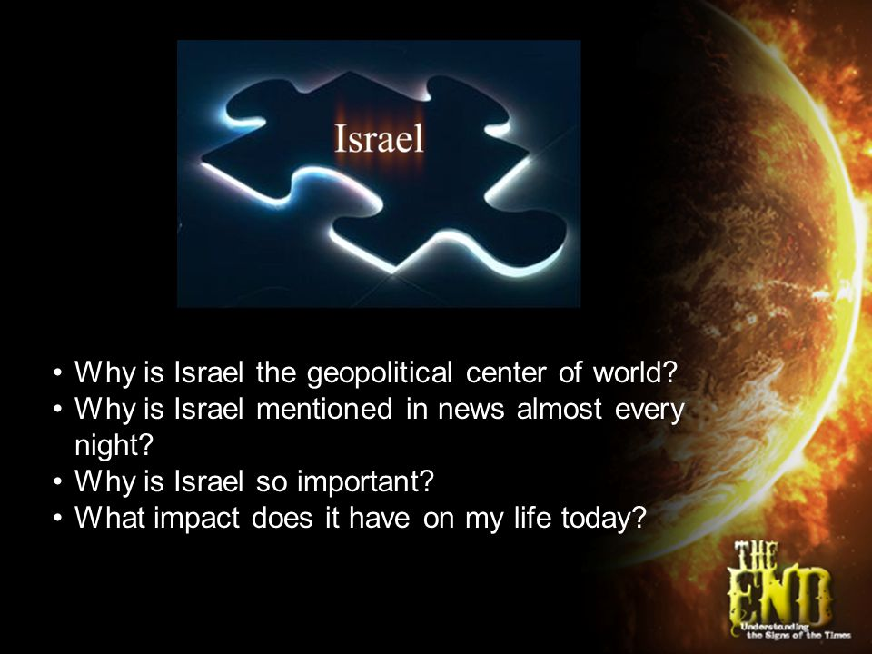 III.God's covenant and the JEWS. Deuteronomy 7:6 For you are a people holy to the LORD your God.