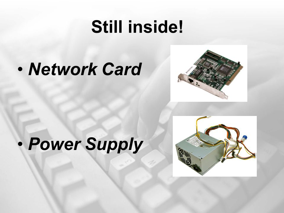 Still inside! Network Card Power Supply