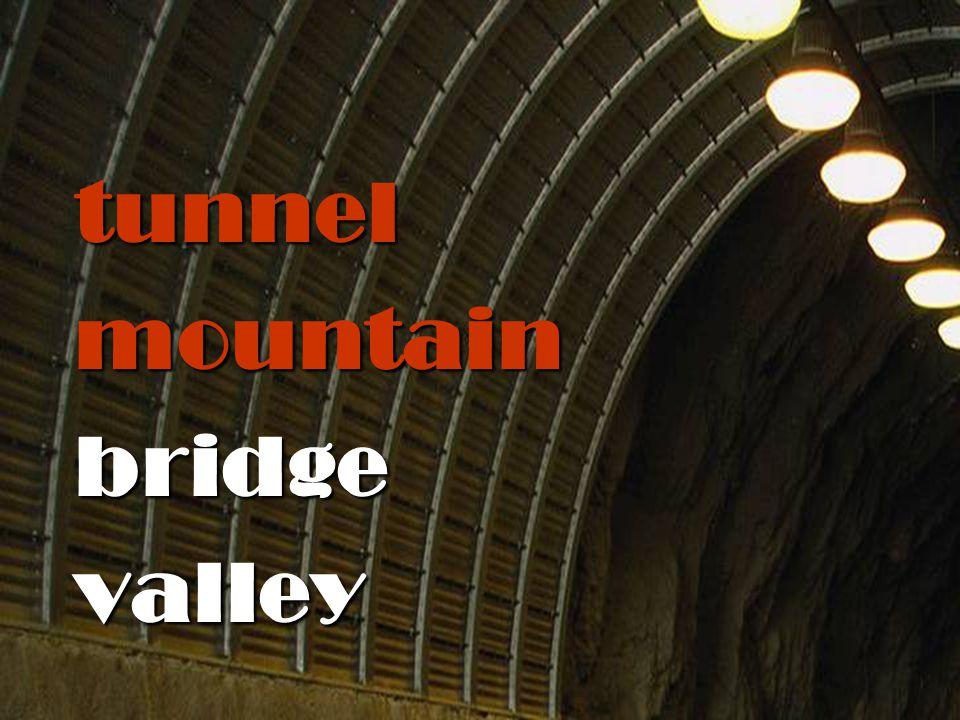 tunnelmountainbridgevalley