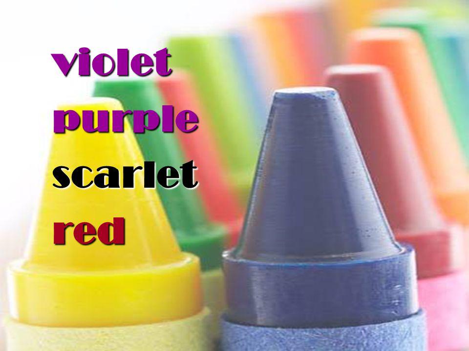 violetpurplescarletred