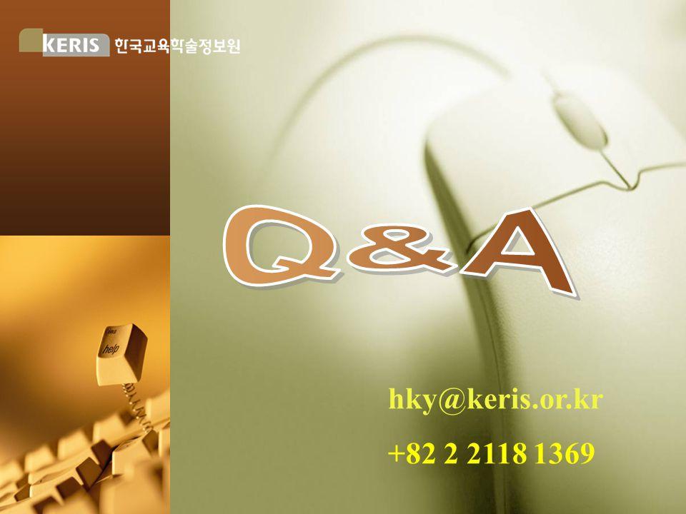 hky@keris.or.kr +82 2 2118 1369