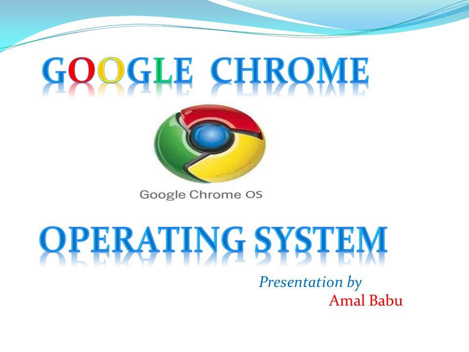 Presentation by Amal Babu