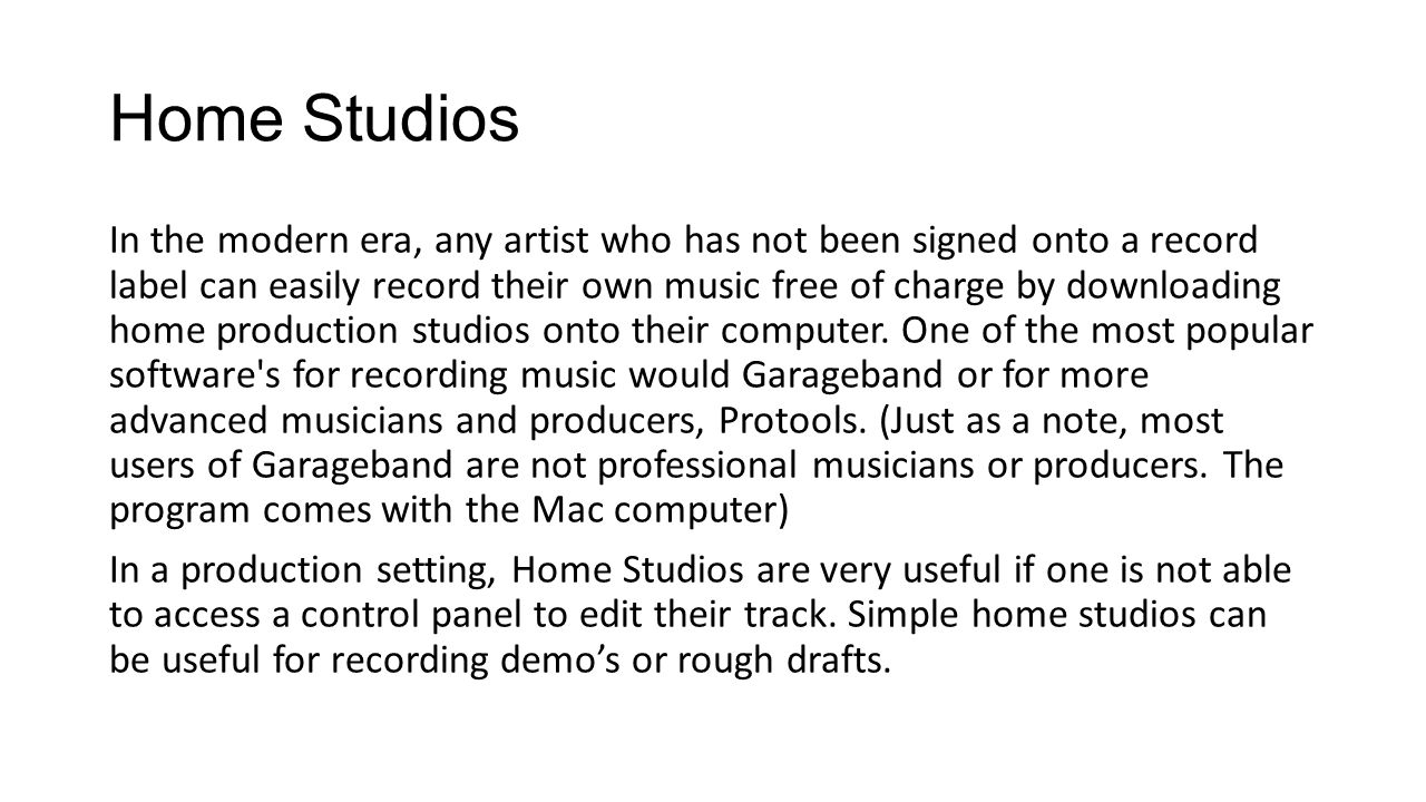 Looping Tracks The feature of looping tracks, is mostly used in making beats for hip- hop tracks.