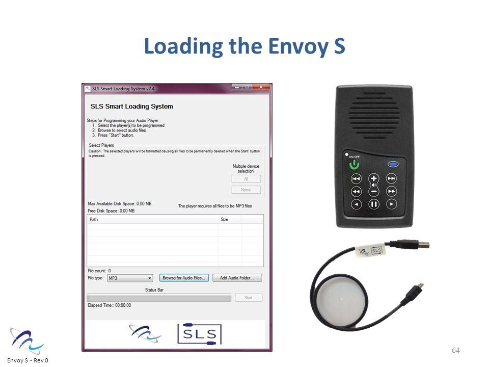 64 Loading the Envoy S Envoy S - Rev 0