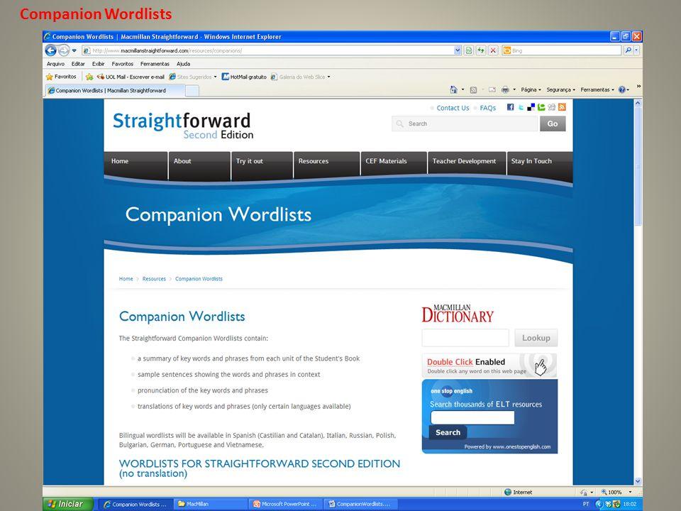 Companion Wordlists