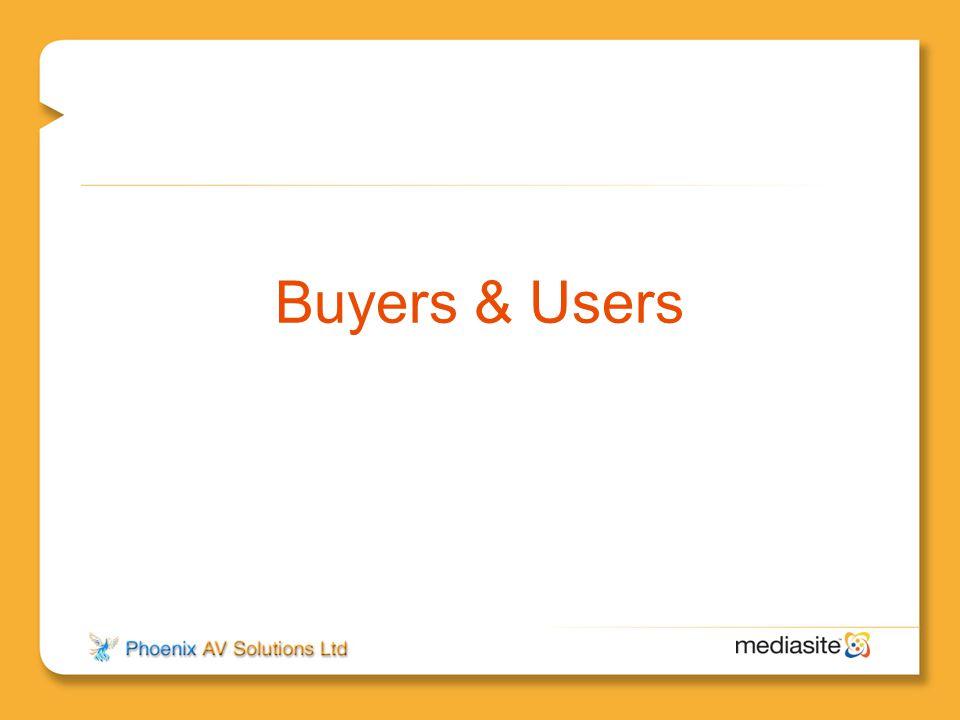 Buyers & Users