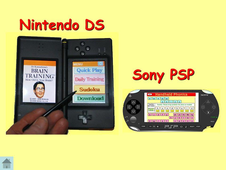 Nintendo DS Sony PSP