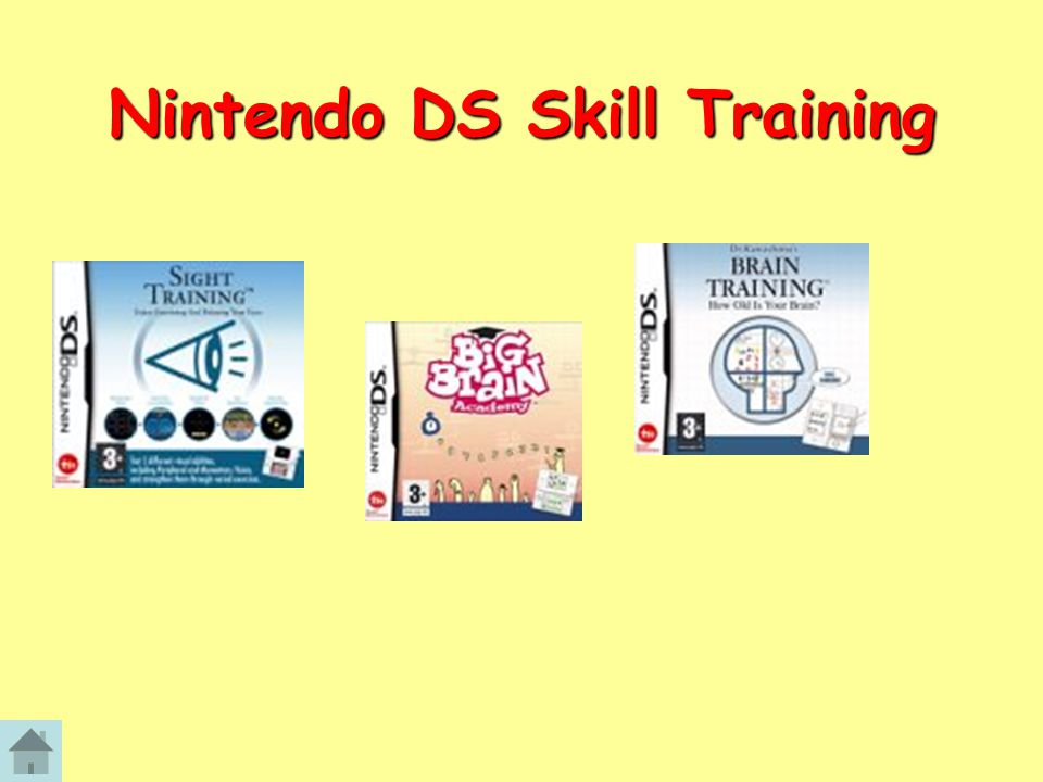 Nintendo DS Skill Training