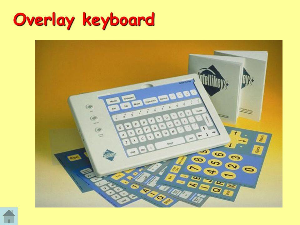 Overlay keyboard