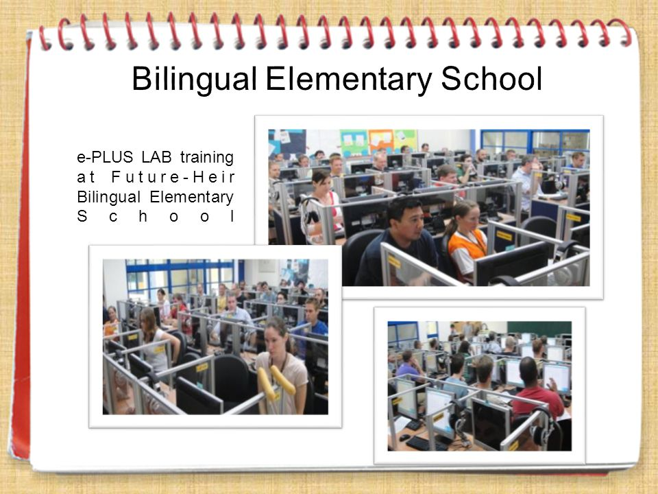e-PLUS LAB training at Future-Heir Bilingual Elementary School