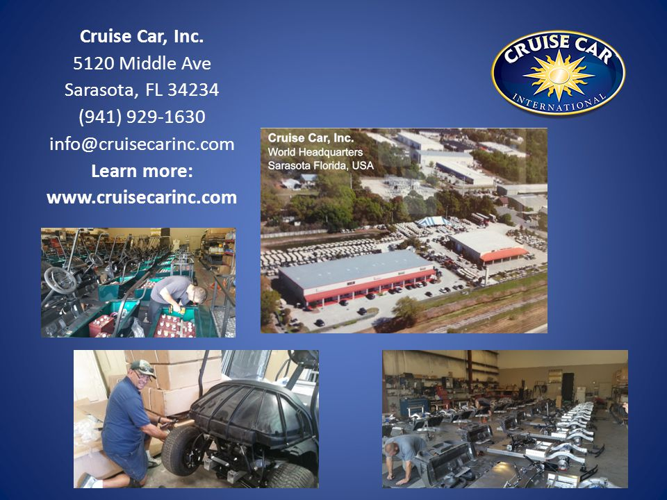 Cruise Car, Inc.