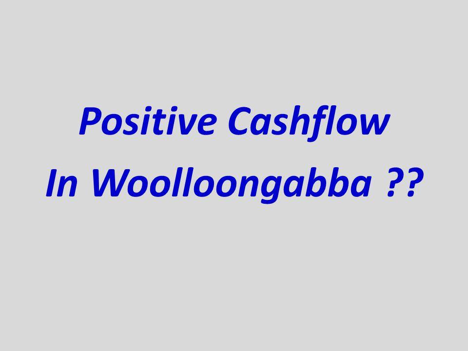 Positive Cashflow In Woolloongabba