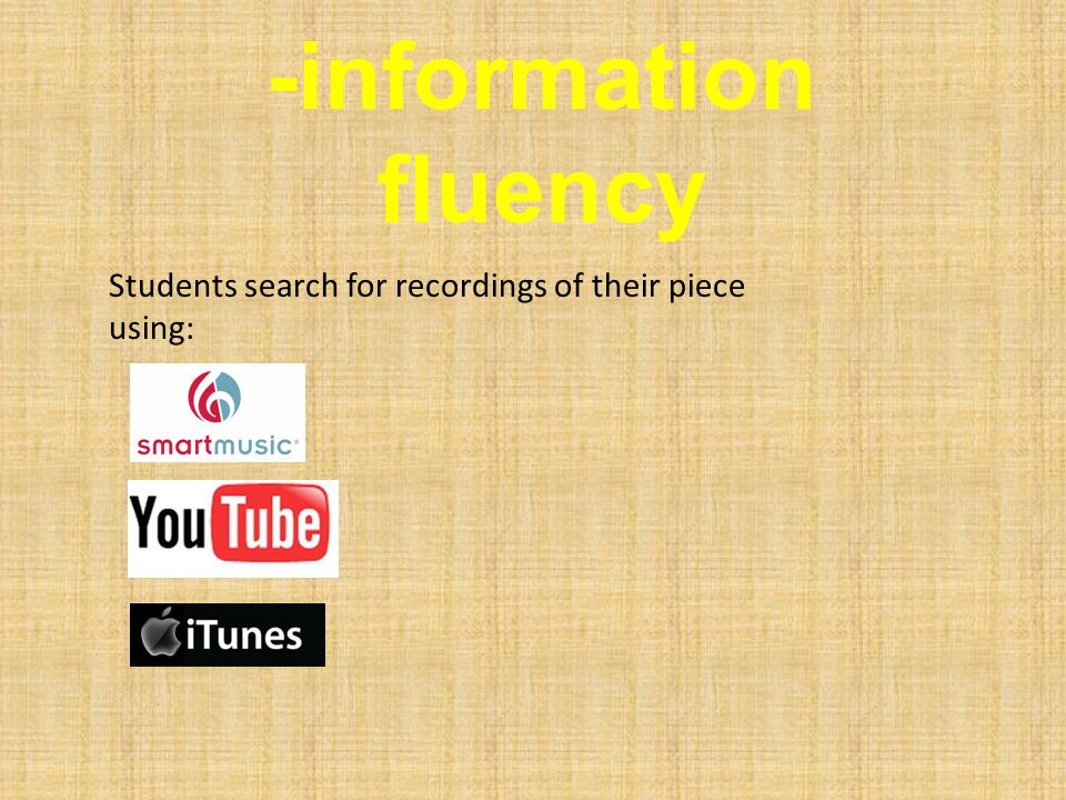 -solution fluency Students determine: are the parts too hard for any of us.