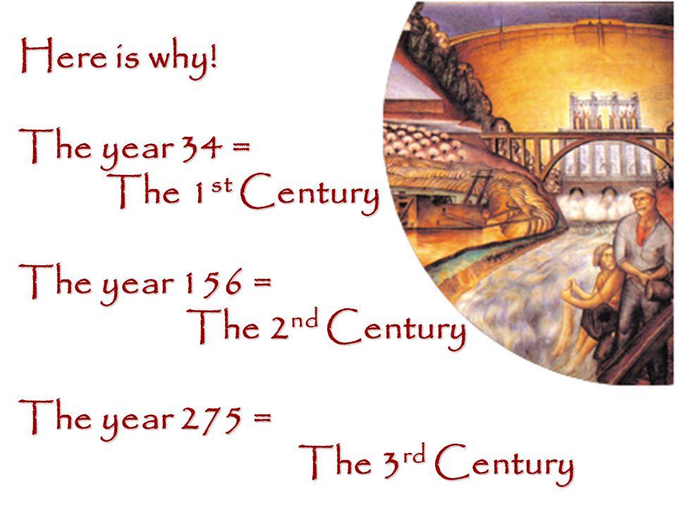 Understanding … 1600 = 17th Century The year …