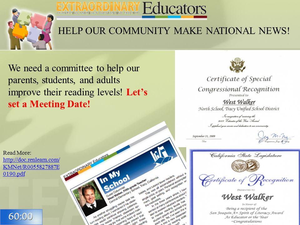 35 Read More: http://doc.renlearn.com/ KMNet/R0055827887E 0190.pdf http://doc.renlearn.com/ KMNet/R0055827887E 0190.pdf HELP OUR COMMUNITY MAKE NATIONAL NEWS.