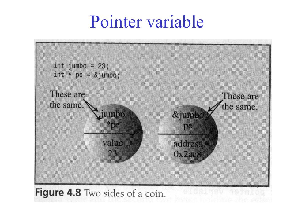 Pointer variable