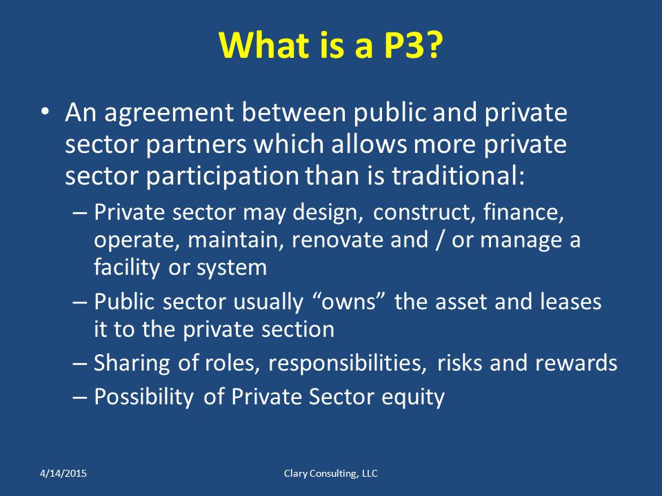 What is a P3.