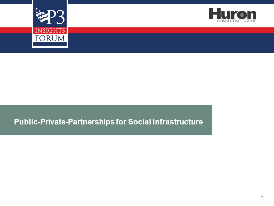 2 Public-Private-Partnerships for Social Infrastructure