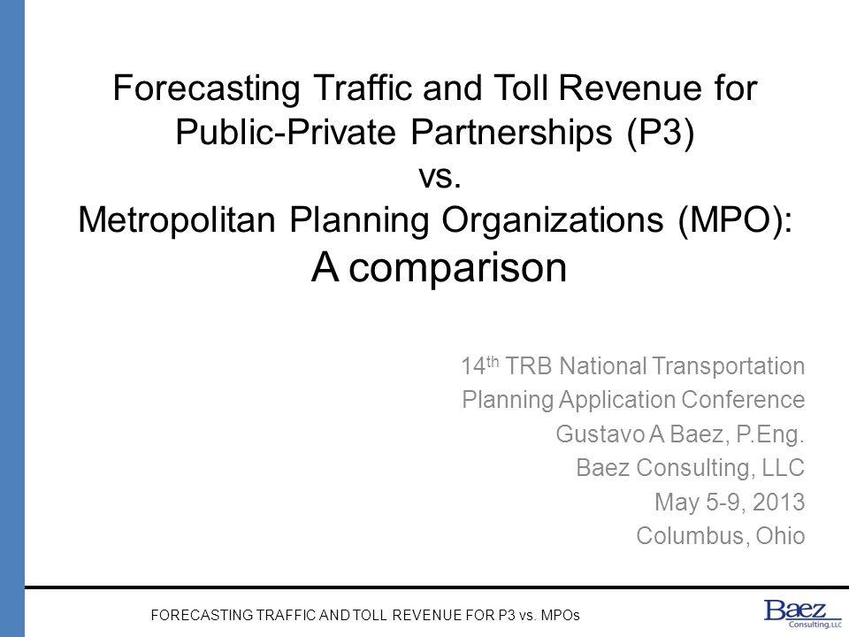 MPO PROCESS Modeling Land use Model Travel Demand Micro- Simul.