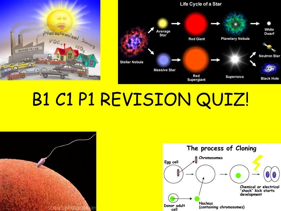 B1 C1 P1 REVISION QUIZ!