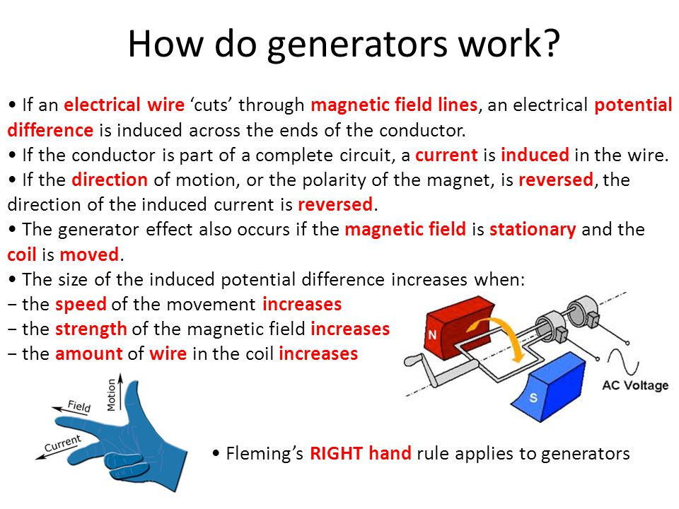 How do generators work.