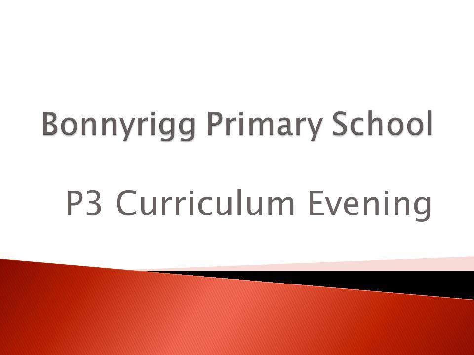 P3 Curriculum Evening