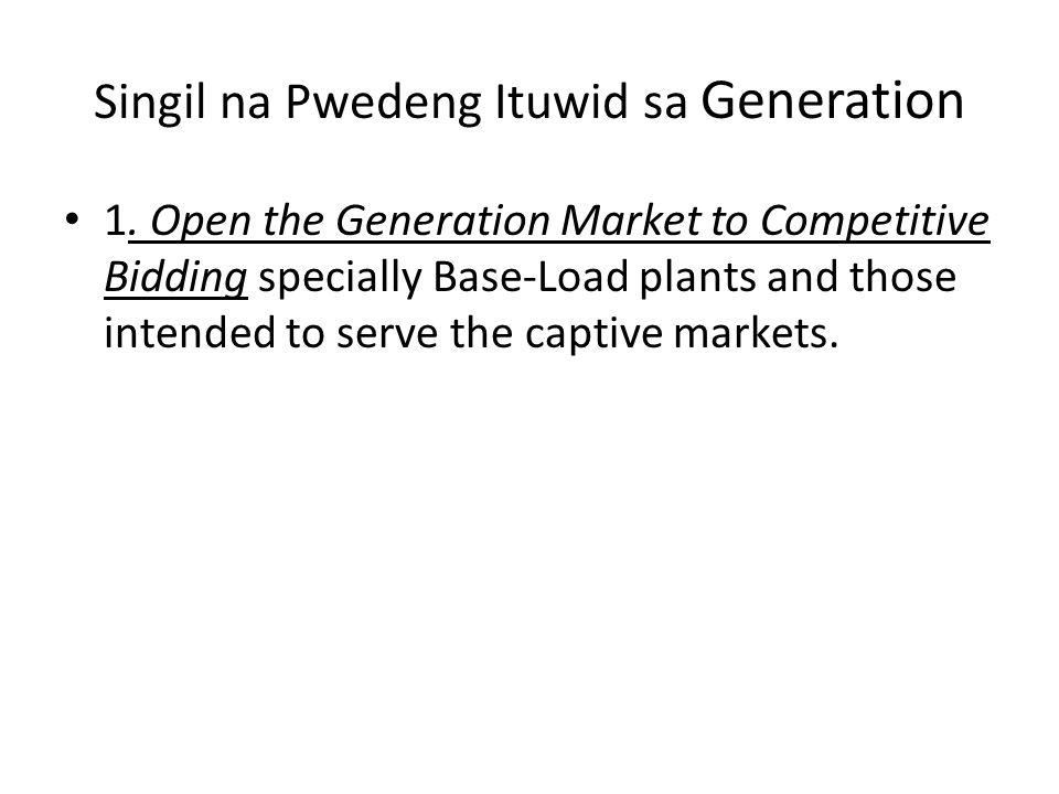Singil na Pwedeng Ituwid sa Generation 1.
