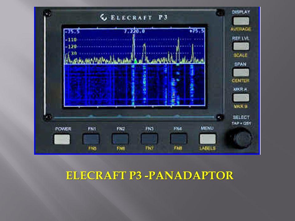 ELECRAFT P3 -PANADAPTOR