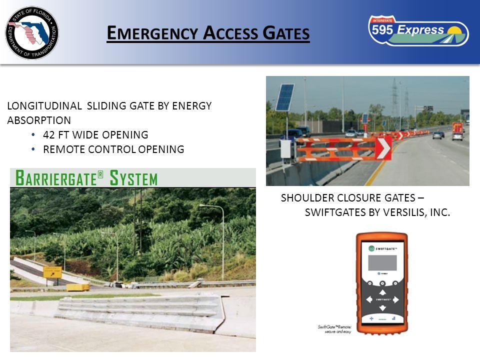 SHOULDER CLOSURE GATES – SWIFTGATES BY VERSILIS, INC.