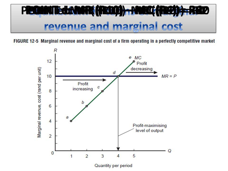 POINT a: MR (R10) – MC (R4) = R6 POINT b: MR (R10) – MC (R6) = R4POINT c: MR (R10) – MC (R8) = R2POINT d: MR (R10) – MC (R10) = R0POINT e: MR (R10) – MC (R12) = -R2