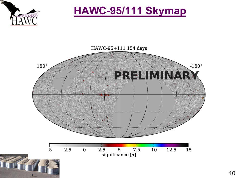 10 HAWC-95/111 Skymap J. Patrick Harding, Summer Seminar Series