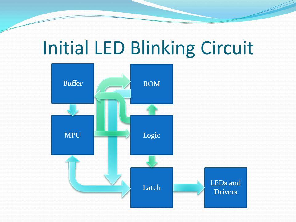 Initial LED Blinking Circuit