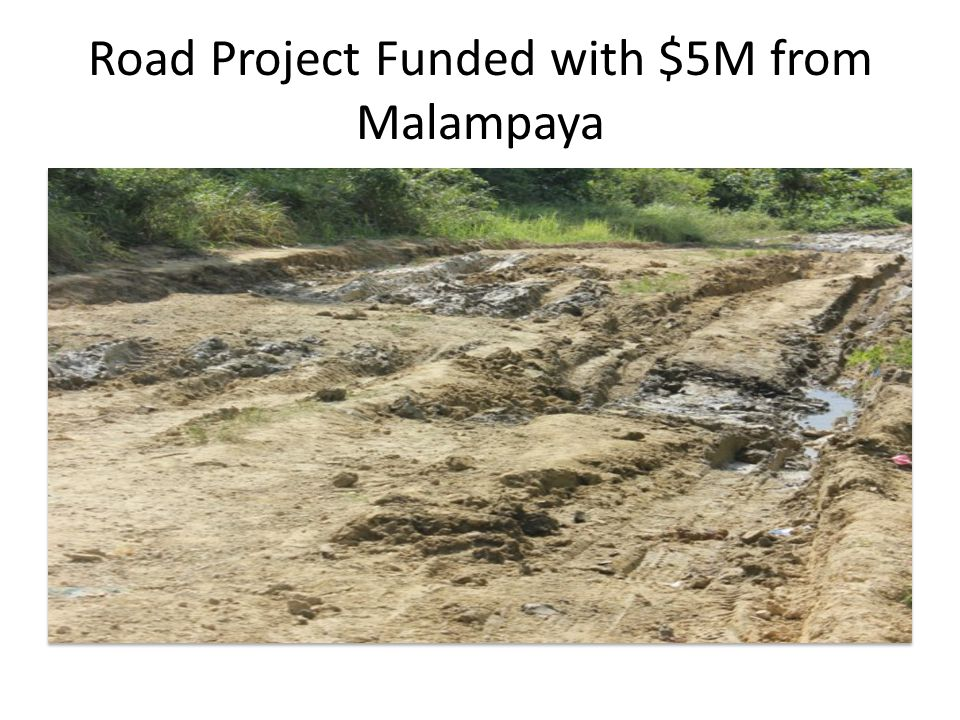 Road Project Funded with $5M from Malampaya