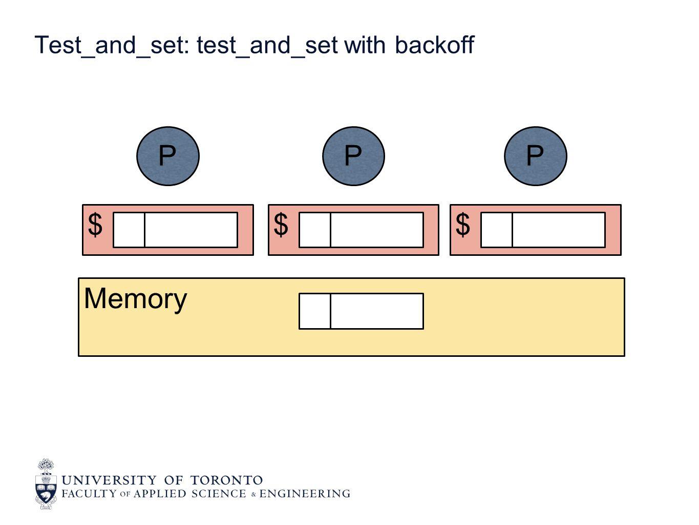 $ P $ P $ P Memory