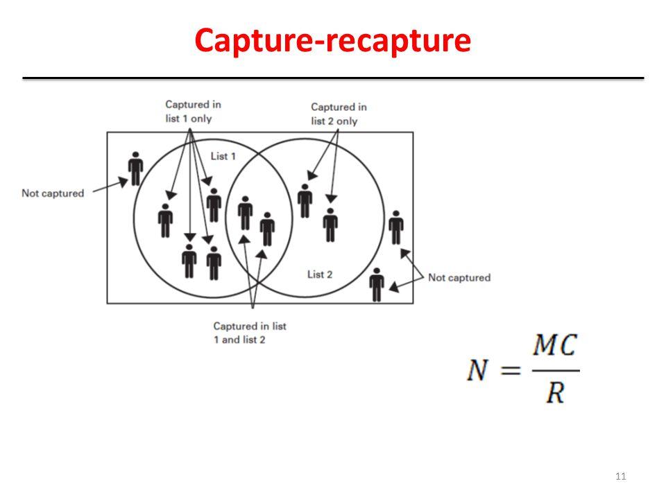 Capture-recapture 11