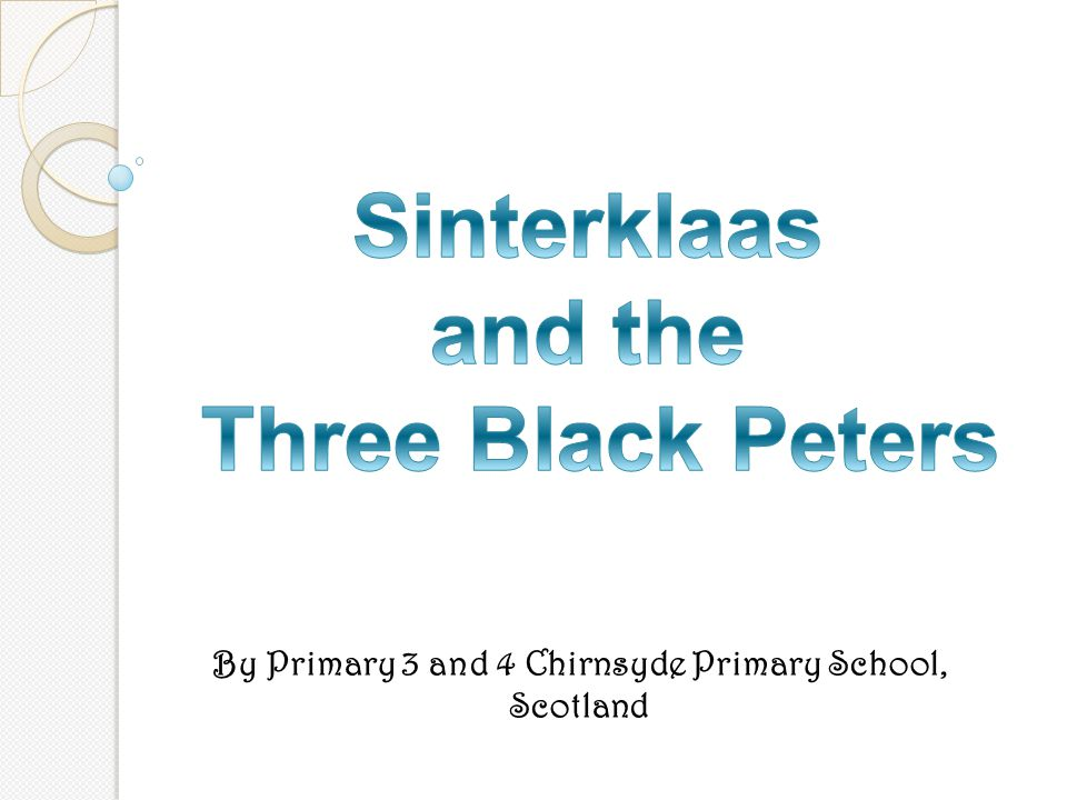 By Primary 3 and 4 Chirnsyde Primary School, Scotland