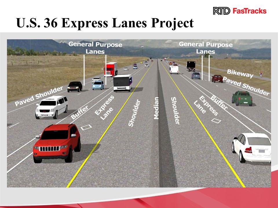 U.S. 36 Express Lanes Project