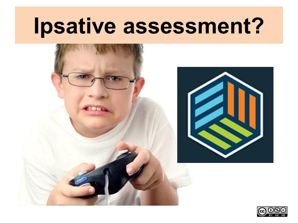 Ipsative assessment?