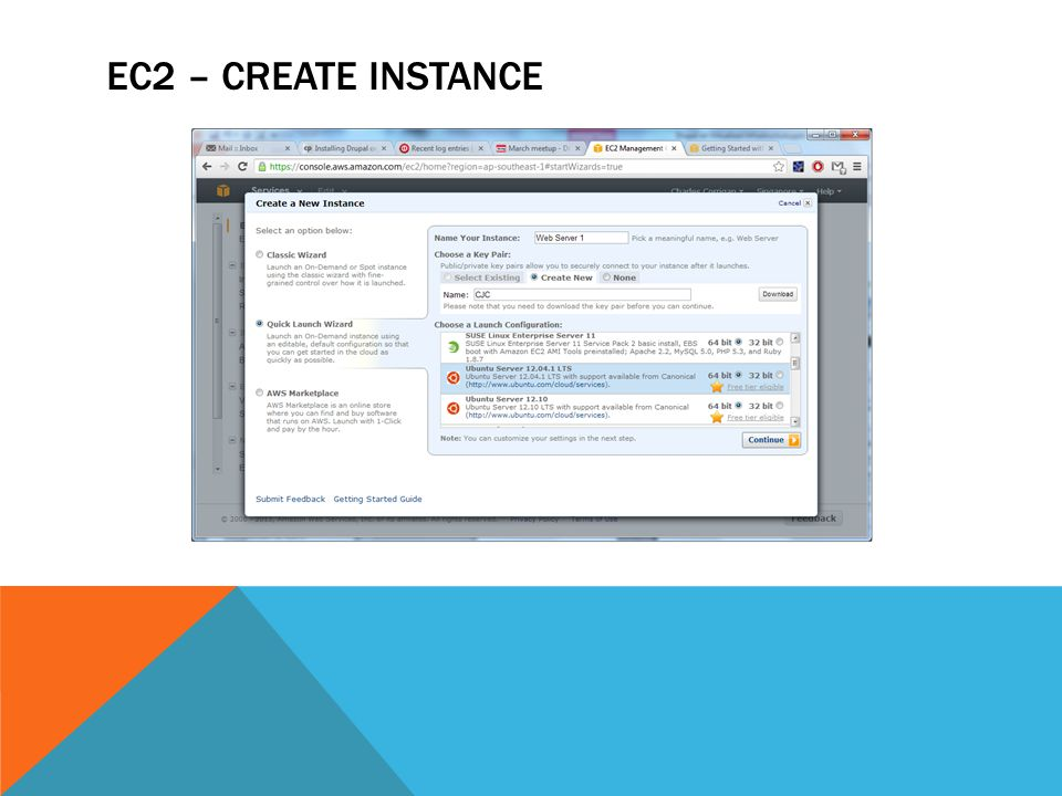 EC2 – CREATE INSTANCE