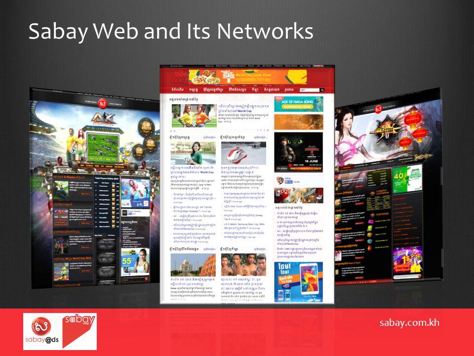 Sabay Web and Its Networks sabay.com.kh